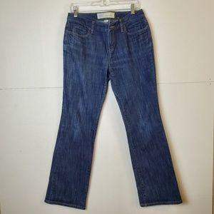 Ann Taylor Loft Curvy Boot Denim Jeans
